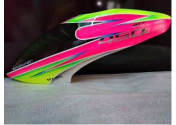 MaskPro Ultimate Airbrush Fiberglass Canopy For Align Trex 450L