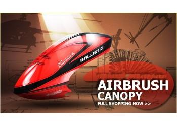 Custom MaskPro Signature Airbrush Fiberglass Canopy Rave 90
