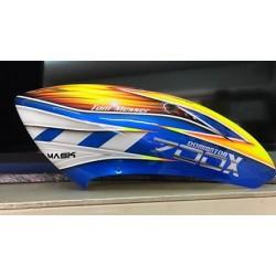 Custom  MaskPro Signature Airbrush Fiberglass Canopy Align Trex 700X Dominator