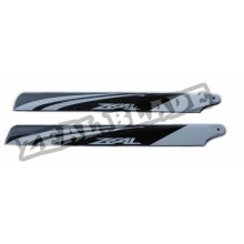 ZEAL Carbon Fiber Main Blades 430mm  ( B Grade )
