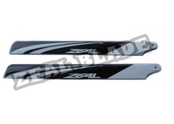 ZEAL Carbon Fiber Main Blades 430mm  ( B Surface )
