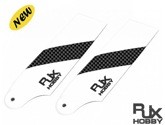 RJX Carbon Fiber 62mm Tail Rotor Blades for 450 RC Helicopter