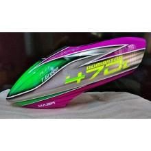 Custom MaskPro Airbrush Fiberglass Canopy for Align Trex 470L