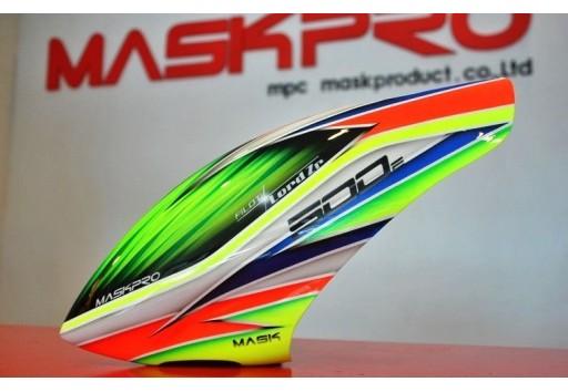 Custom MaskPro Airbrush Fiberglass Canopy For Align Trex 500 DFC & MaskPro Airbrush Fiberglass Canopy For Align Trex 500 DFC