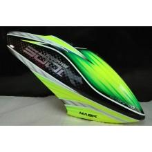 MaskPro Ultimate Airbrush Fiberglass Canopy For Align Trex 500L Dominator