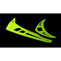 3Pro Neon Yellow Vertical/Horizontal Fins For Trex 550/600