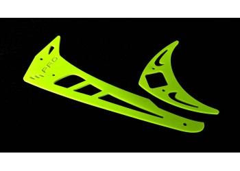 3Pro Neon Yellow Vertical/Horizontal Fins For Trex 700