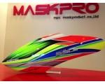 Custom MaskPro Airbrush Fiberglass Canopy For Align Trex 550e  DFC