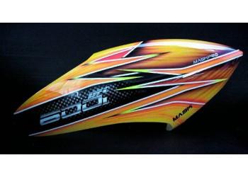 MaskPro Ultimate Airbrush Fiberglass Canopy For Align Trex 600L