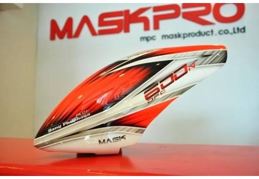 Custom MaskPro Airbrush Fiberglass Canopy For Align Trex 600n Pro DFC & MaskPro Airbrush Fiberglass Canopy For Align Trex 600n Pro DFC