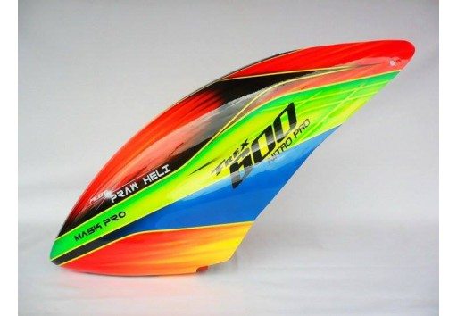 Custom MaskPro Airbrush Fiberglass Canopy For Align Trex 600 Nitro Pro & MaskPro Airbrush Fiberglass Canopy For Align Trex 600 Nitro Pro