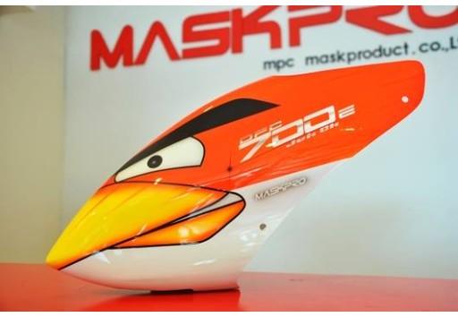 Custom MaskPro Airbrush Fiberglass Canopy For Align Trex 700e DFC & MaskPro Airbrush Fiberglass Canopy For Align Trex 700e DFC