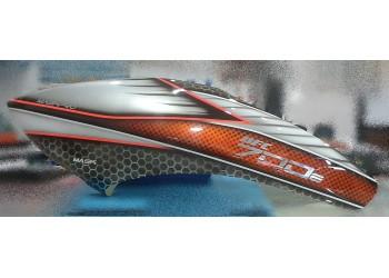 MaskPro Ultimate Airbrush Fiberglass Canopy For Align Trex 700e Pro DFC