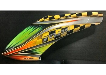 MaskPro Ultimate Airbrush Fiberglass Canopy For Align Trex 700n DFC