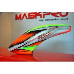 Custom MaskPro Airbrush Fiberglass Canopy For Align Trex 700N DFC