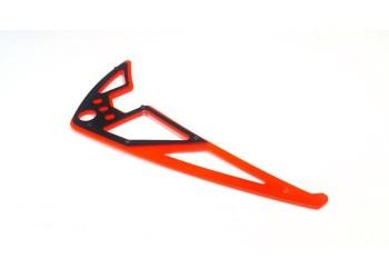 3Pro Neon Orange/Black Vertical Fins For KDS Agile 7.2