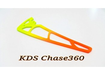 3Pro Neon Yellow/Orange Vertical Fins For KDS Chase 360