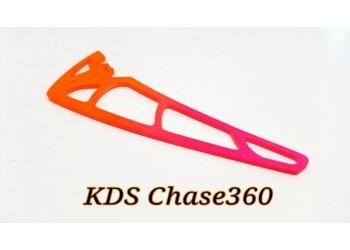 3Pro Neon Orange/Pink Vertical Fins For KDS Chase 360