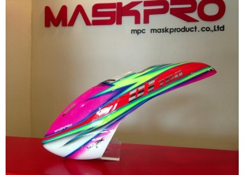 Custom MaskPro Airbrush Fiberglass Canopy For DT 700