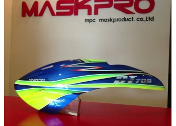 Custom  MaskPro Airbrush Fiberglass Canopy For DT 520/500
