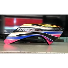 MaskPro Ultimate Airbrush Fiberglass Canopy For JR ForZA 450 EX