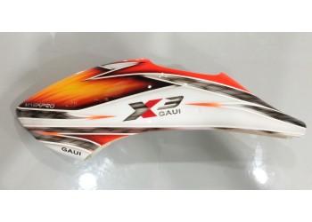 Custom MaskPro Airbrush Fiberglass Canopy For Gaui X3L