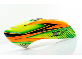 Custom  MaskPro Signature Airbrush Fiberglass Canopy GAUI X3