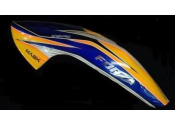 Custom MaskPro Airbrush Fiberglass Canopy For JR ForZa 700