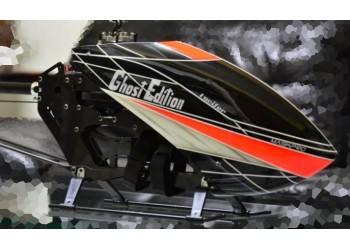 Custom  MaskPro Signature Airbrush Fiberglass Canopy Alees Rush 750
