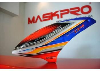 Custom  MaskPro Signature Airbrush Fiberglass Canopy  Raptor G4 E720