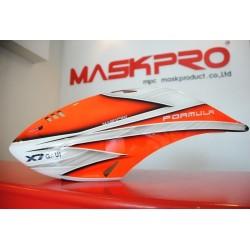 Custom MaskPro Signature Airbrush Fiberglass Canopy GAUI X7 Formula