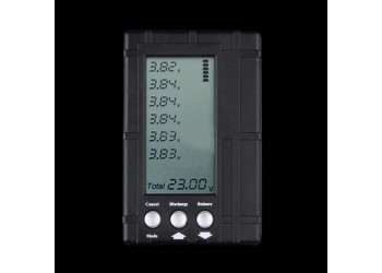 3 in 1 RC 2s-6s LCD Li-Po Battery Balancer Voltage Meter Tester Discharger